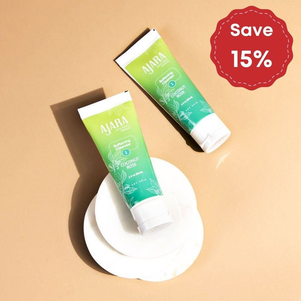 Coconut Rose Softening Wash - Pack of 2
