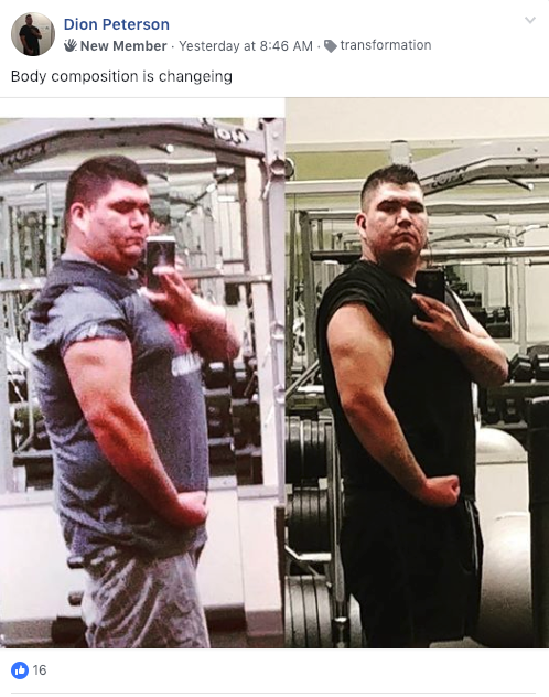 Dion Keto Journey