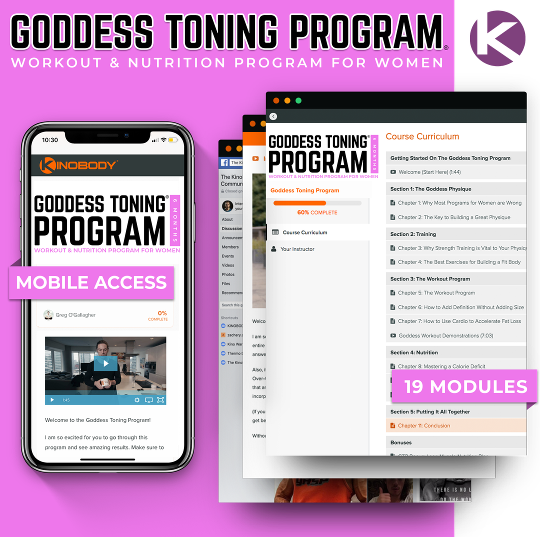 Goddess Toning Program Example