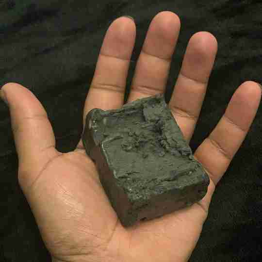 Care By Jords | Handmade African Black Soap with Hemp Seed Oil and Activated Charcoal