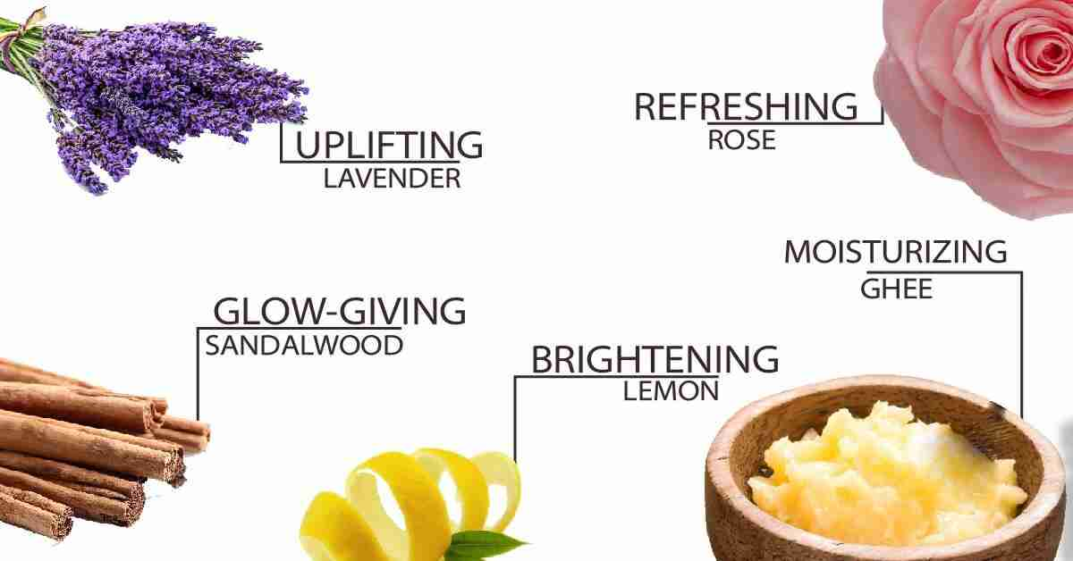 Ingredients in Sandalwood Rose Eye Butter
