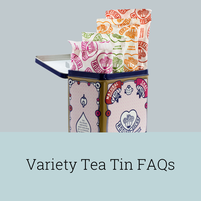 Rooibos Rocks Variety Tea Tin FAQs