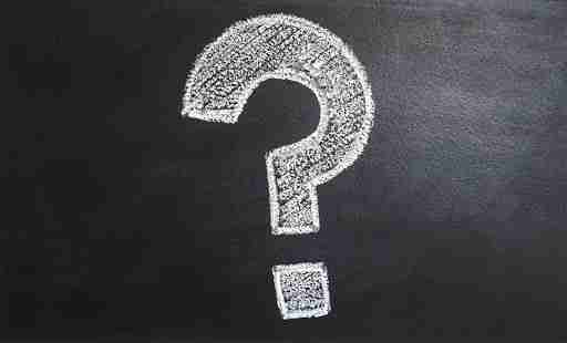 fitness questions question mark on chalkboard