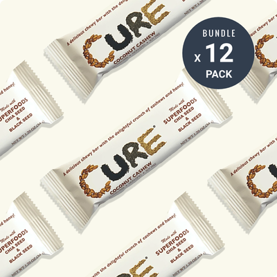Cure Coconut Cashew bars