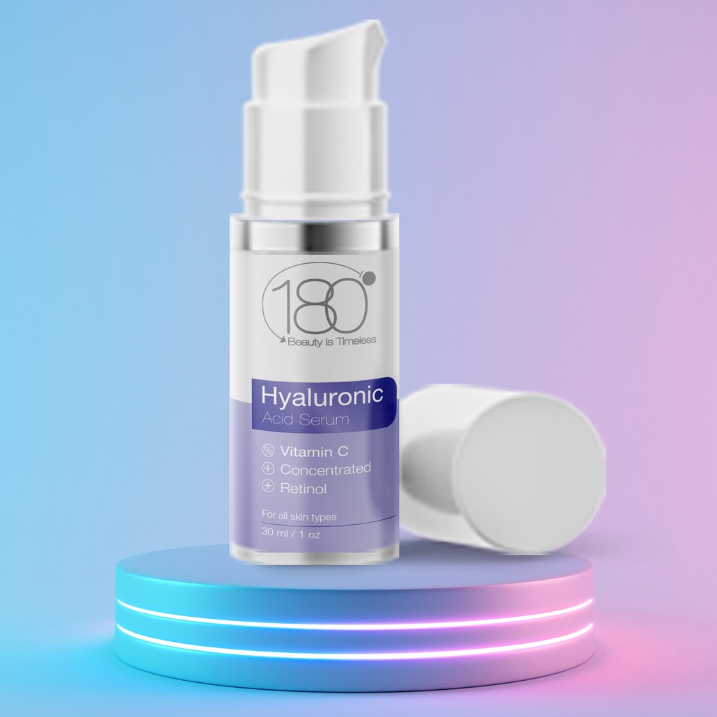 Hyaluronic Acid Serum + Vitamin C (30ml)