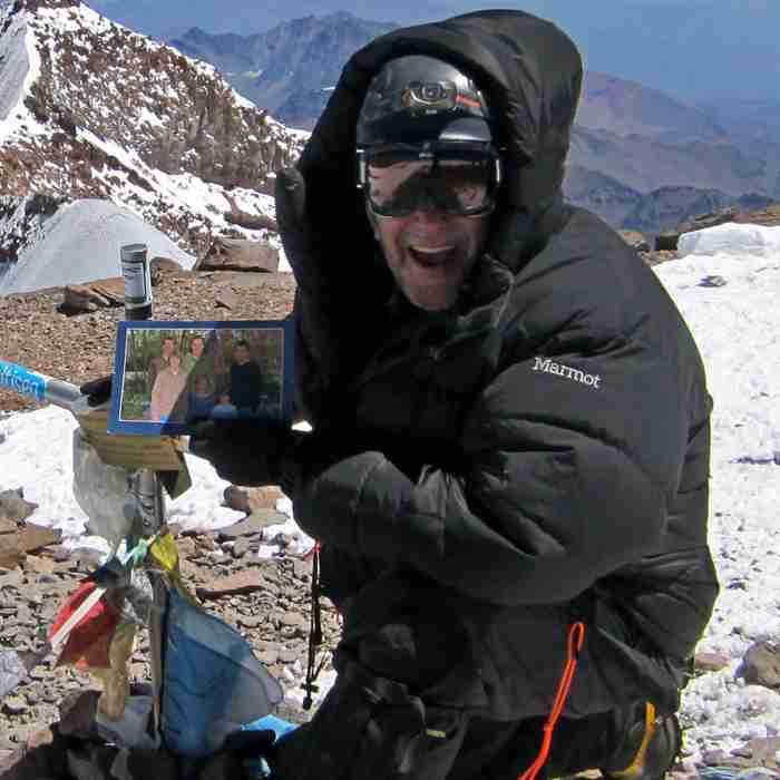 Mt. Aconcagua, Argentina - 22,841 feet