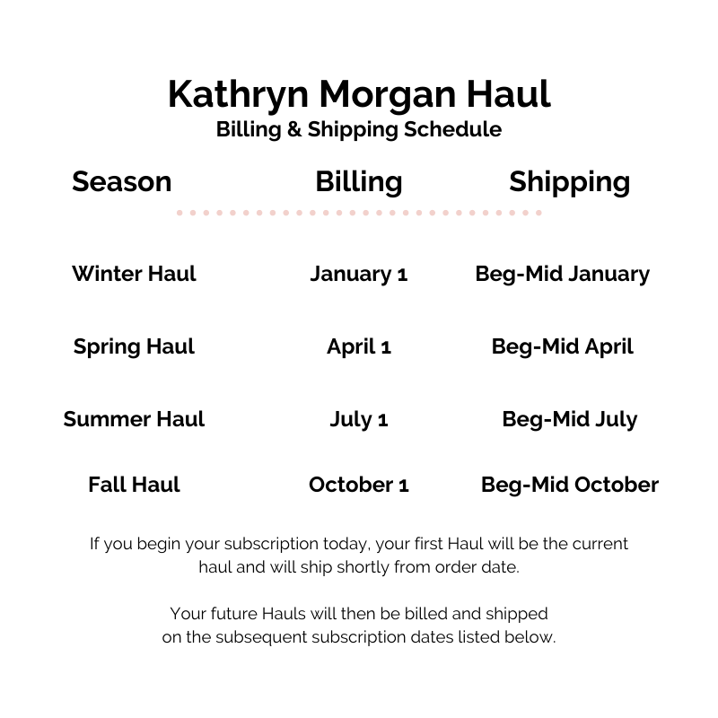 Kathryn Morgan Schedule