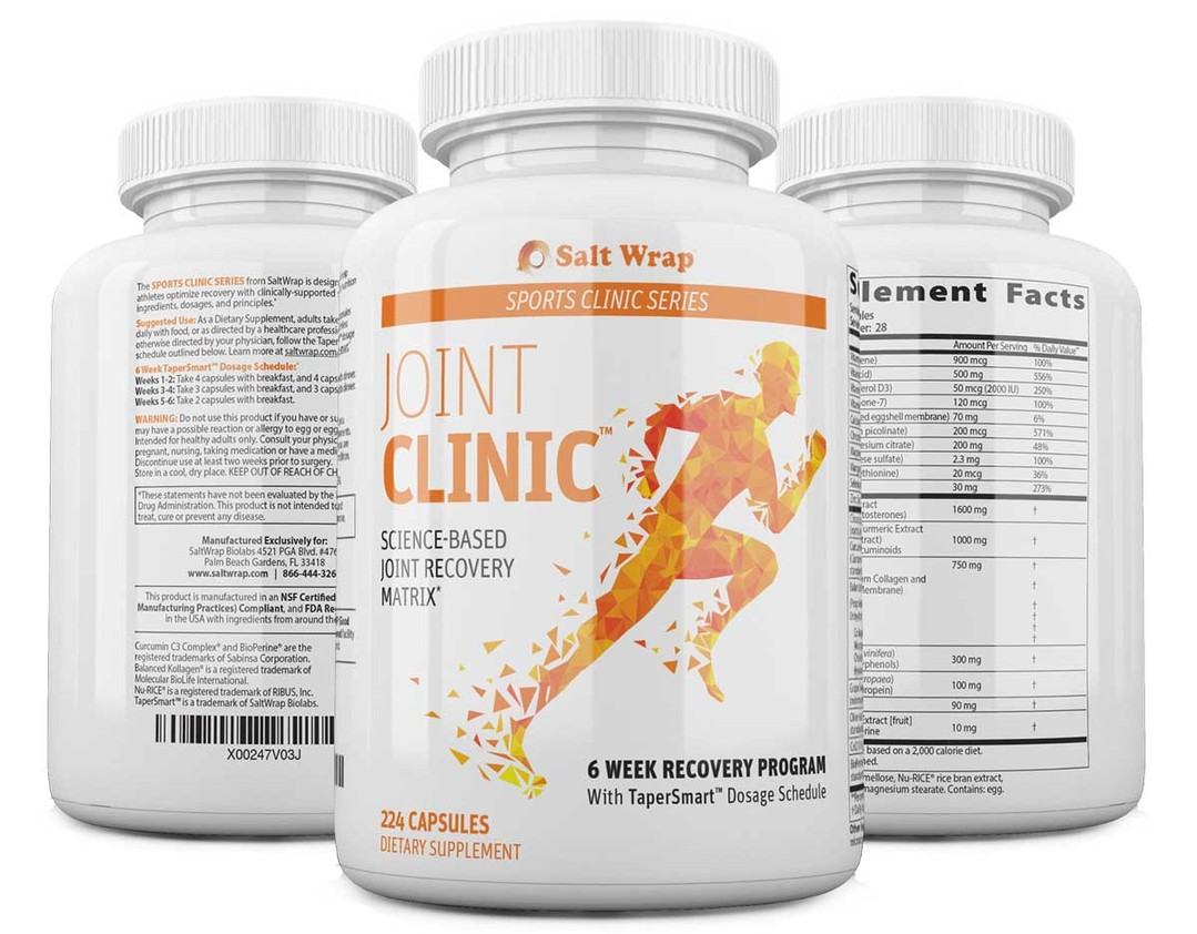 SaltWrap Joint Clinic supplements for injuries