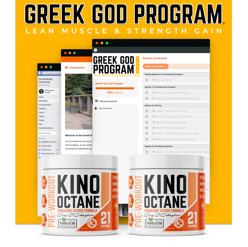 Greek God Program with 2 Octane