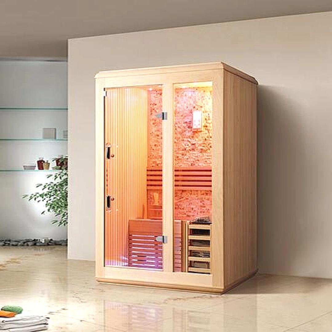 Image of a Traditional Indoor Sauna