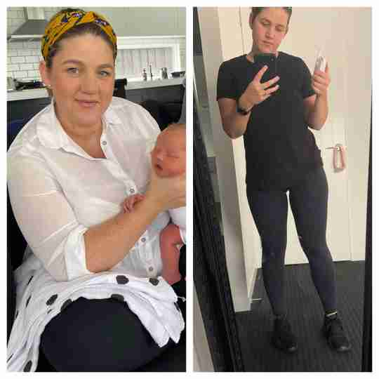 Carly lost 31.5kgs