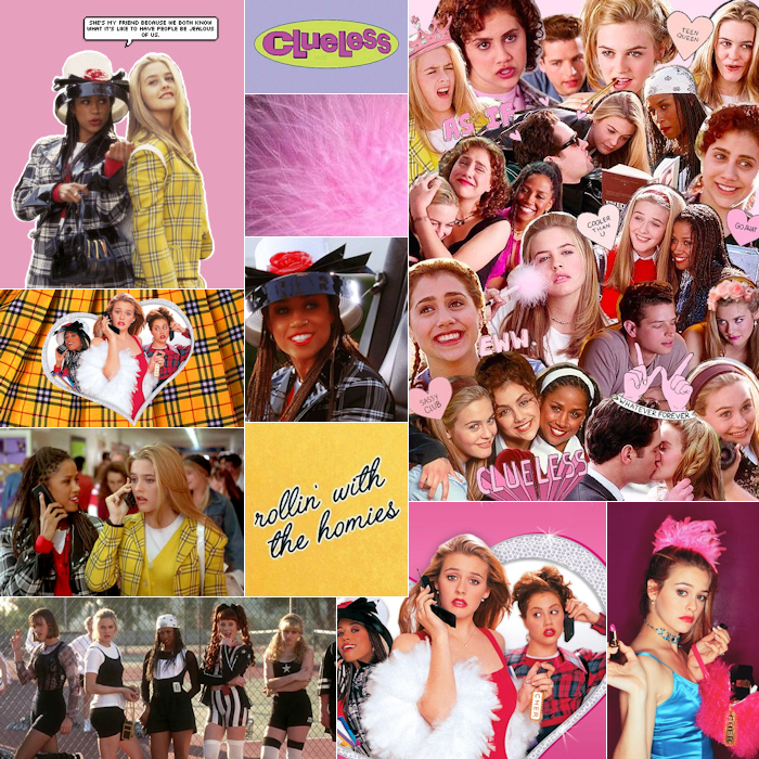 Femme Fatale Mood Board for Clueless Collection