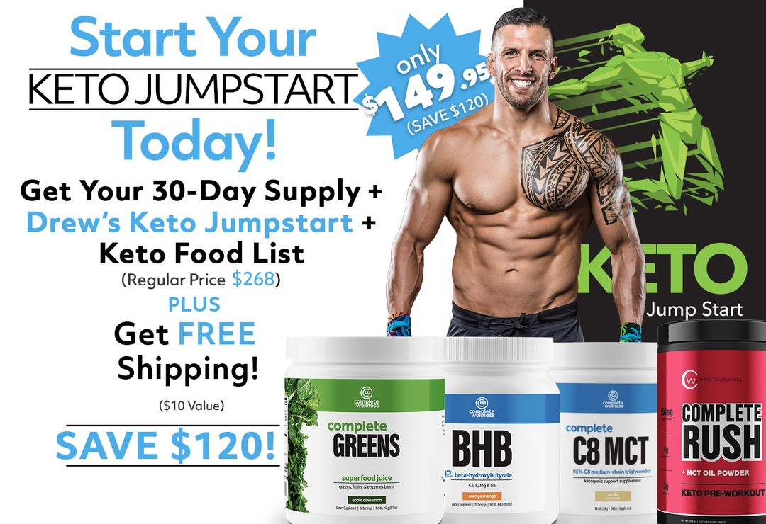 60 day Keto Challenge with Drew Manning