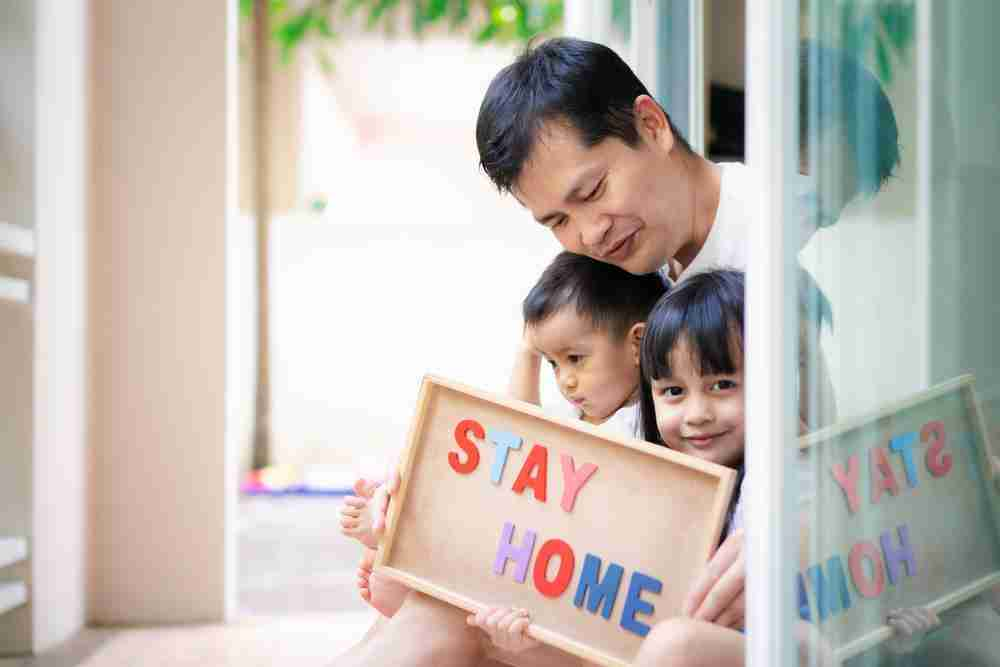 Social distance to protect your kids
