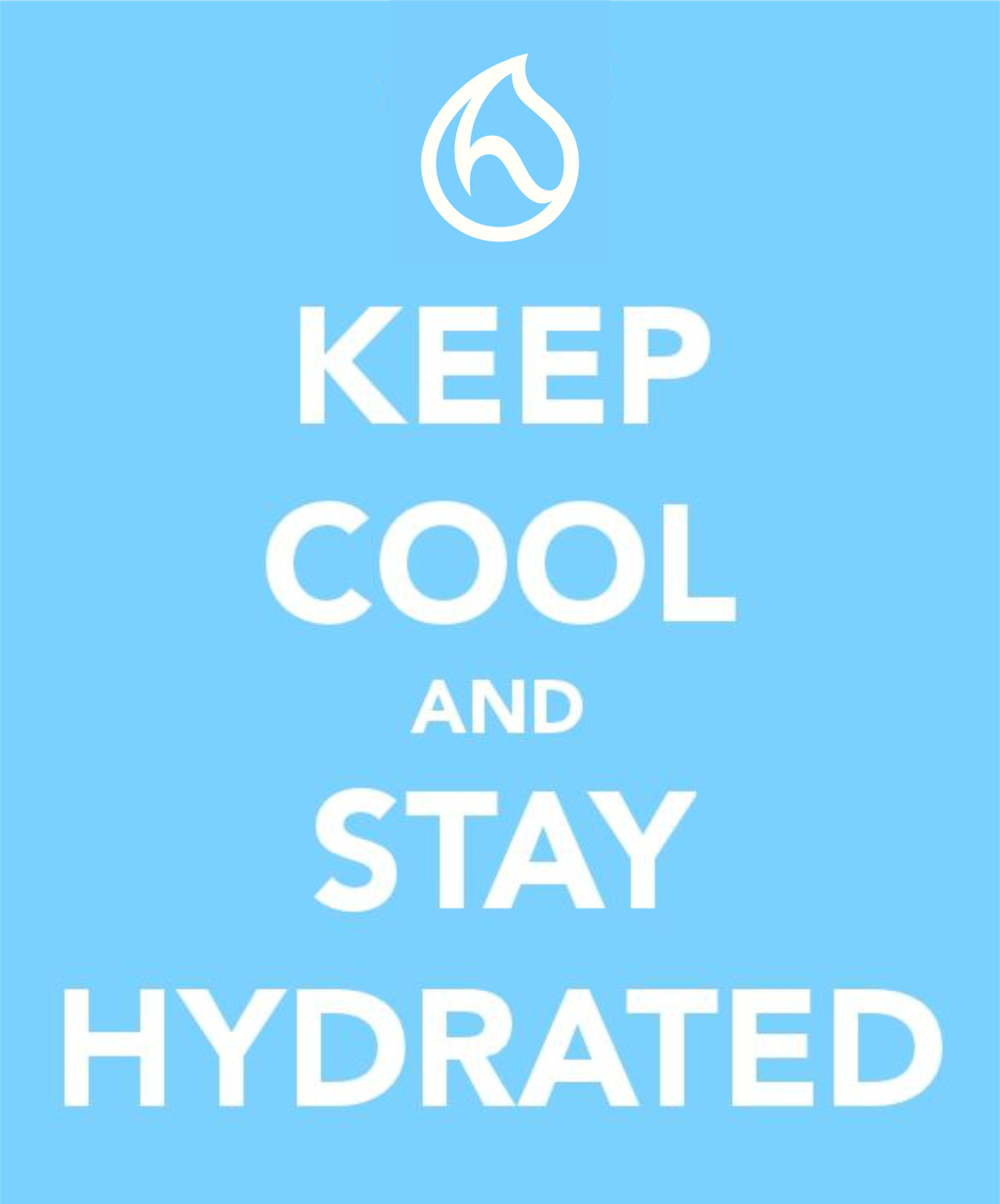 Keep Cool and Stay Hydrated