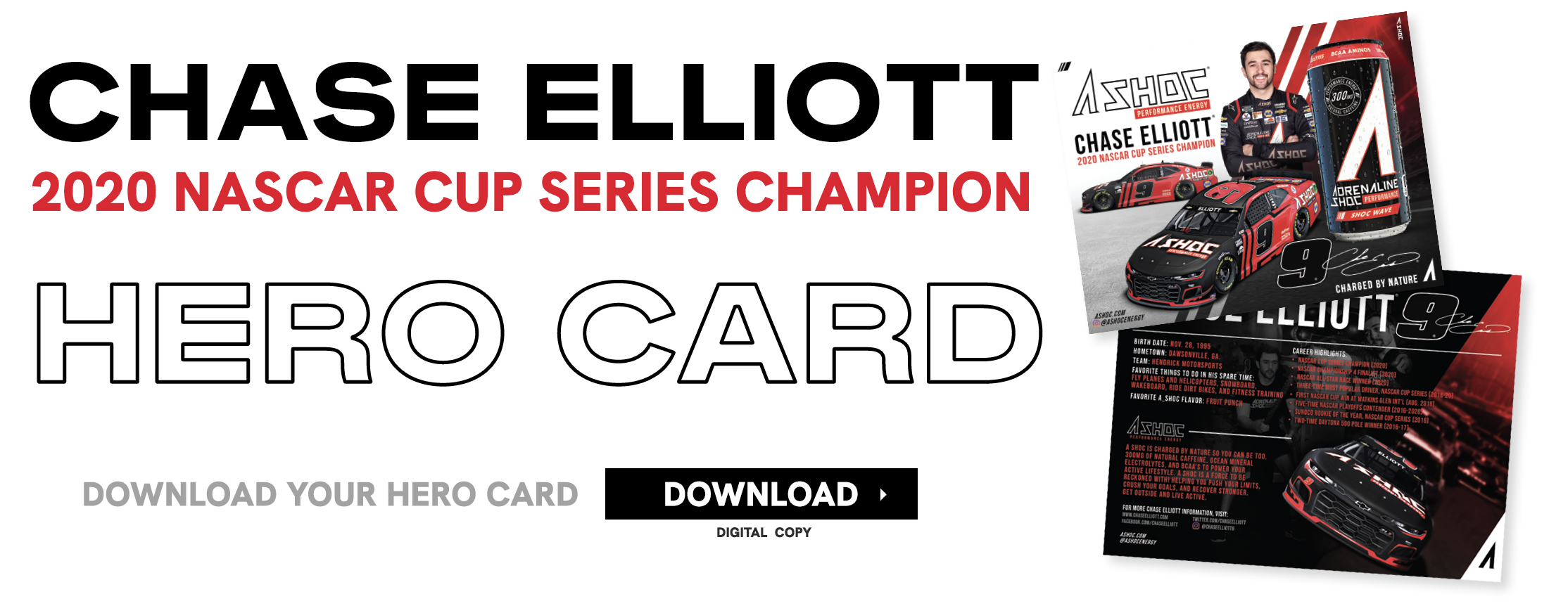 Download your Chase Elliott hero card here