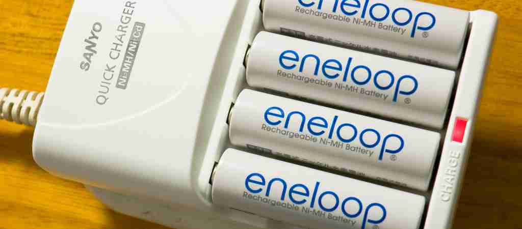 Eneloop AA charger