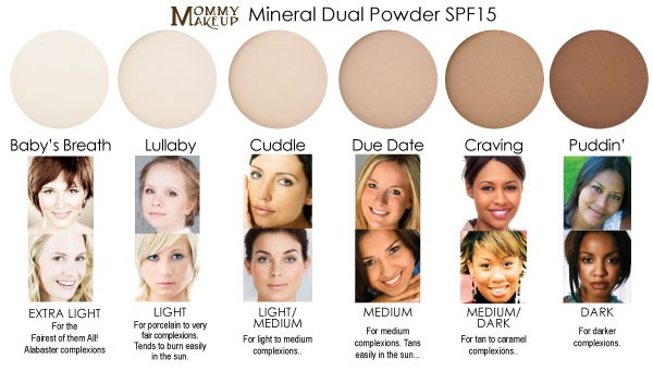 Step 2: Mineral Dual Powder Foundation SPF15