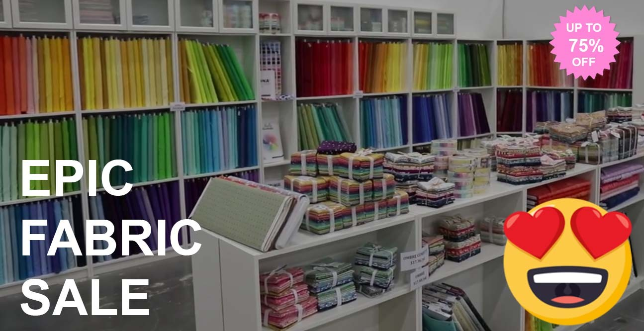 epic fabric sale