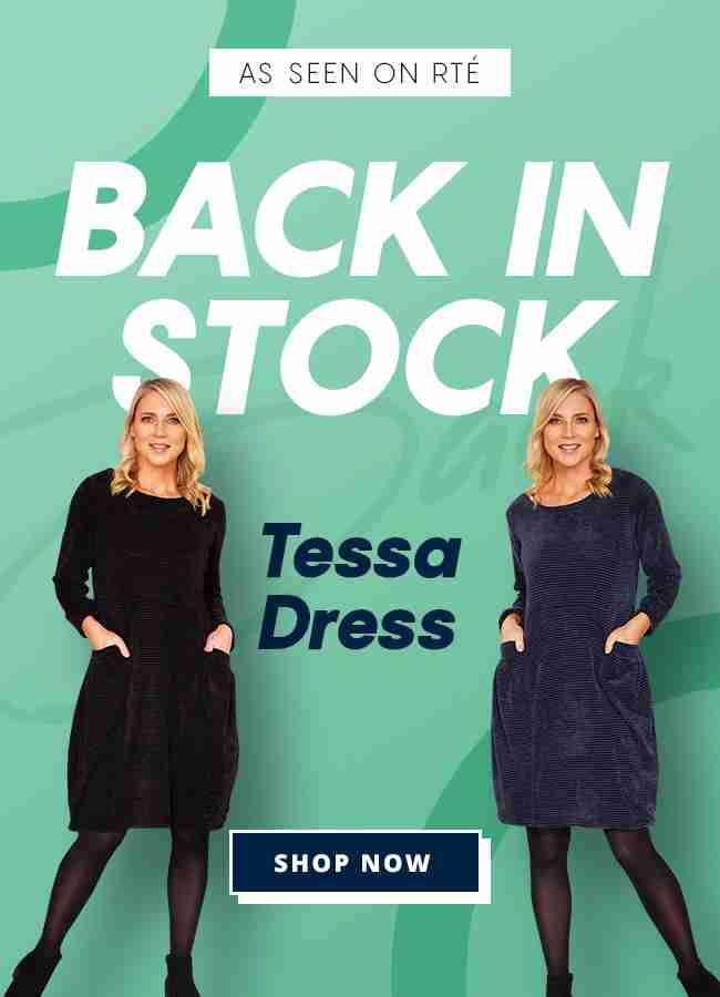 Back in stock tessa dress