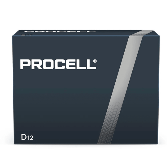 Duracell Procell Industrial D size 1.5V PC1300 Bulk Box of 12