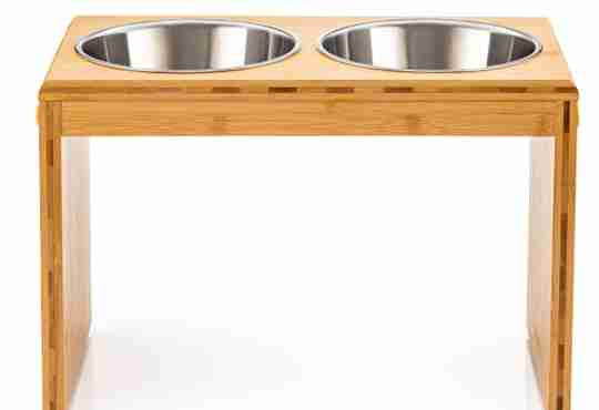 12in elevated pet feeder