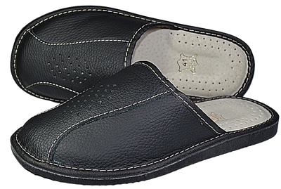 Faith - house leather slipper for men - Reindeer leather