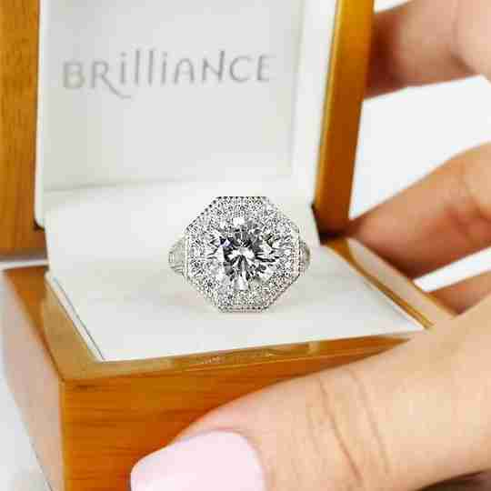 An engagement ring from Brilliance.com