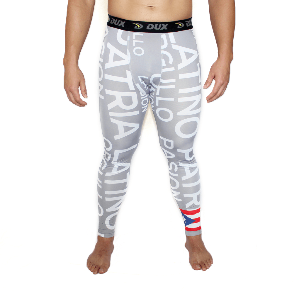 Latino Flags Compression Pants