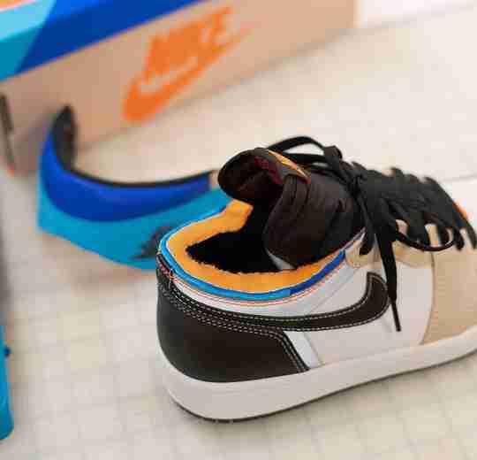 Sneaker Dave's Custom Air Jordan 1 Prototype