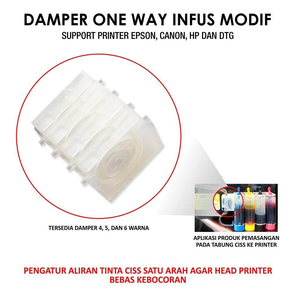 damper one way fast print