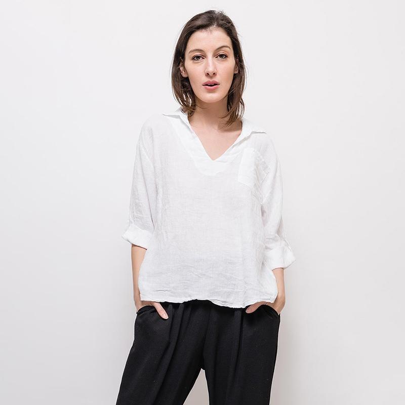 Classic Cotton Shirt White
