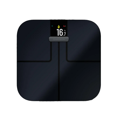 BODY FAT PERCENTAGEYour body needs some fat to be healthy. See what percentage of your mass is made up of essential and stored fat. - Garmin Index S2 Scale
