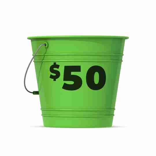 Shop $50 Bucket