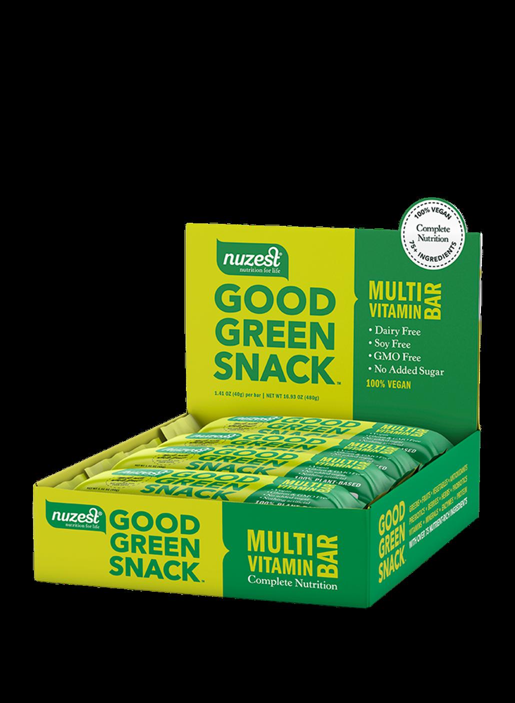 Good Green Snack Bars