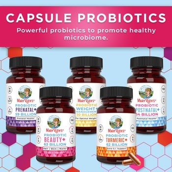 MaryRuth Organics Capsule Probiotics