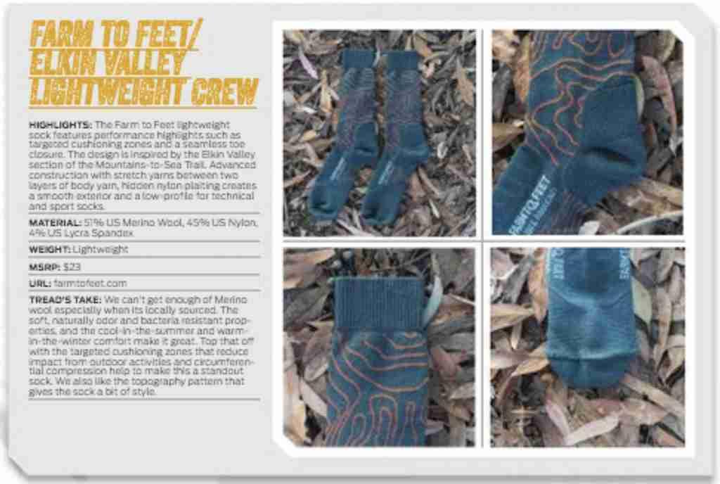 Farm to Feet Elkin Valley Lightweight Crew