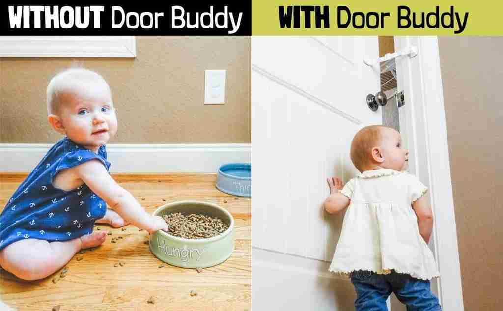 baby gate with pet door alternative