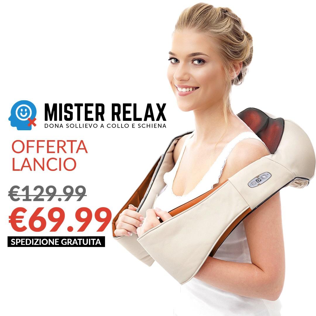Mister Relax - Il tuo Massaggiatore Personale + BONUS