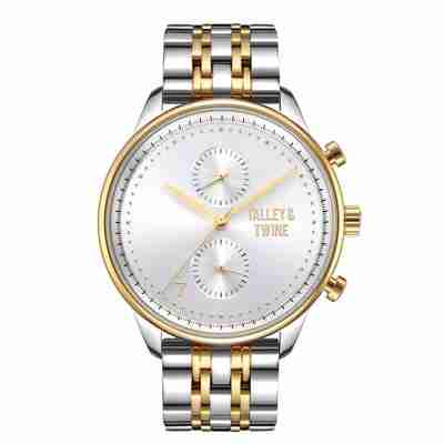 Gold & Silver Worley Chronograph M