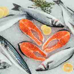 Salmon contains 20g of protein per 100g