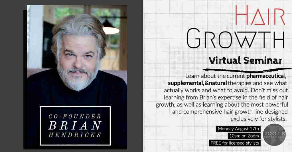 Hair Growth Virtual Seminar