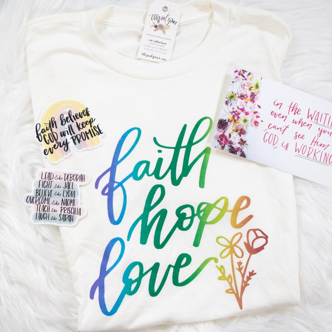 Grace Club - Monthly Inspirational Shirt Subscription!
