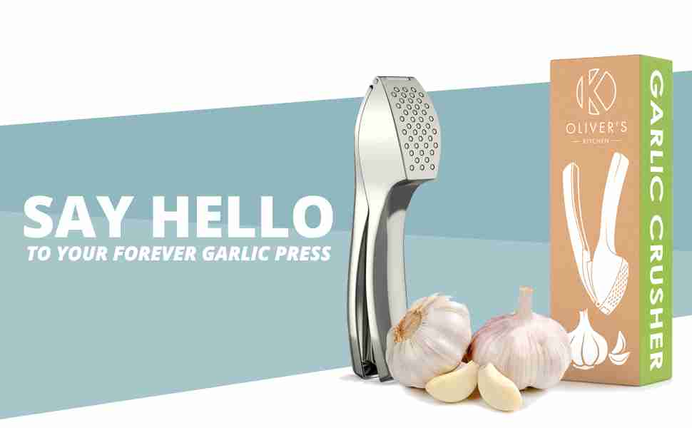 Say hello to your forever garlic press.