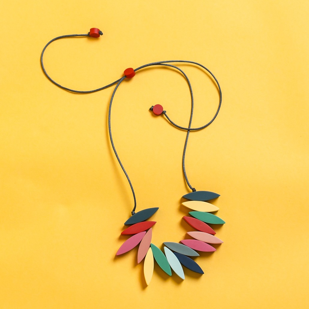 Carousel Fringe Necklace