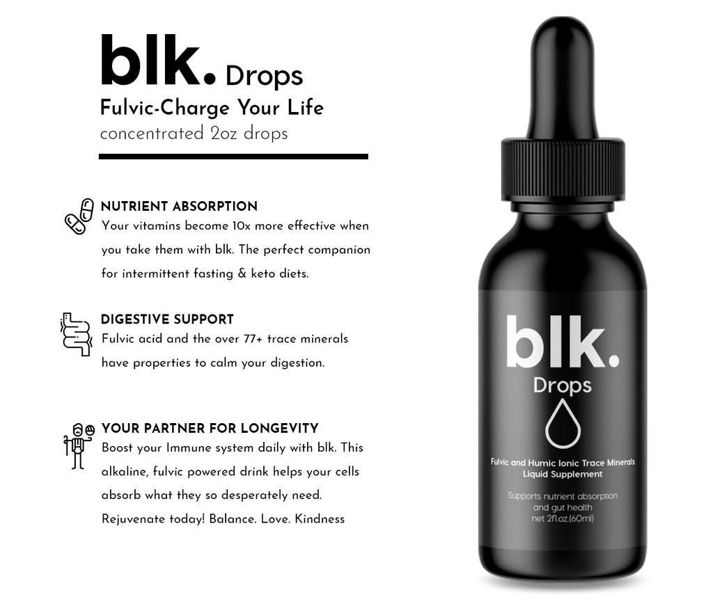 blk. Drops Benefits