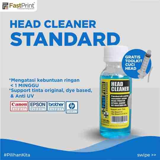 head cleaner standard