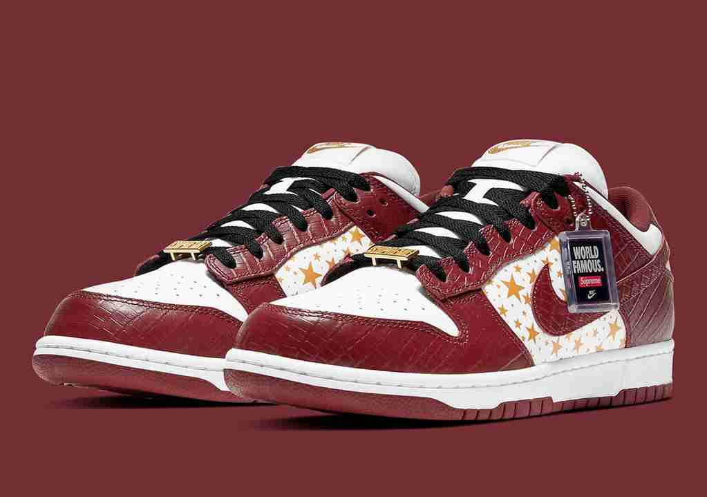 Supreme Nike SB Dunk Low Barkroot Brown