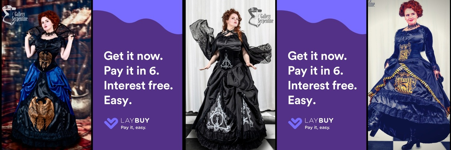 LayBuy lets you pay FULL CORSET GOWNS off in 6 instalments and works for Aus, UK, NZ customers!