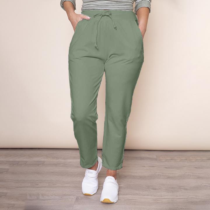Drawstring Jersey Trouser(Khaki)